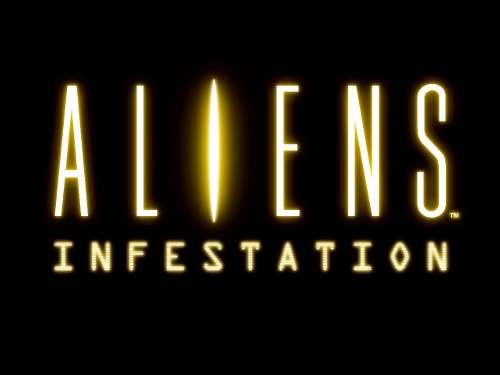 Aliens Infestation DS Logo