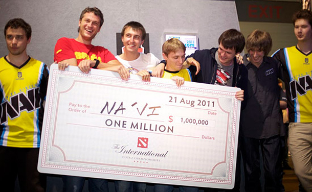 DOTA International - Team Na'vi Wins