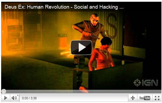 Deus Ex - Human Revolution - Hacking and Social Trailer