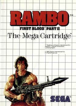 Rambo - First Blood - Part II - Sega Master System