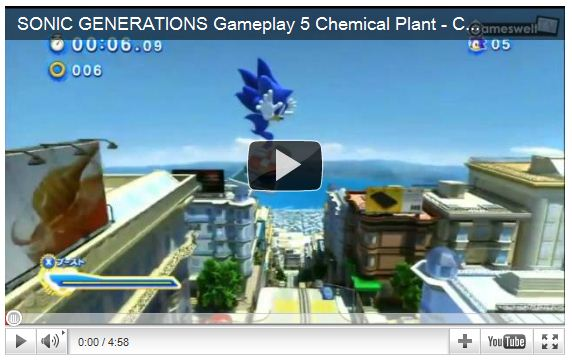 Sonic Generations Preview
