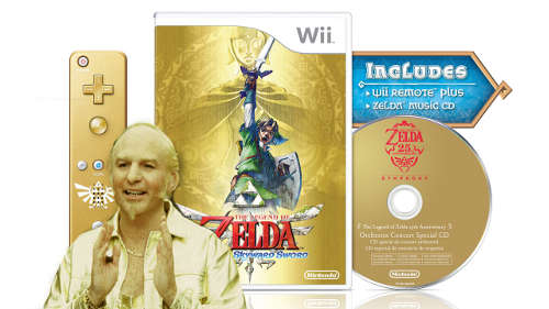 The Legend of Zelda Skyward Sword Golden Bundle Goldmember