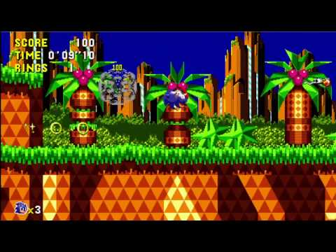 Sonic CD 2011 Rerelease Trailer