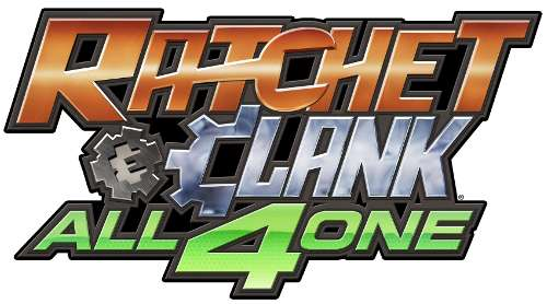 Ratchet and Clank All For One Logo