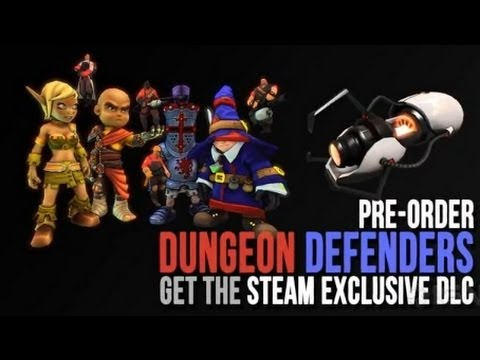 Dungeon Defenders – Steam Pre-Order Bonus Trailer