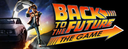 Back To The Future The Game Logo