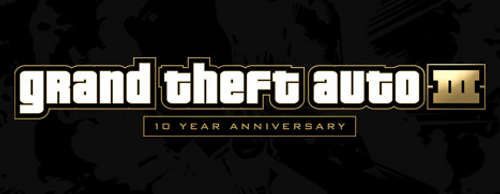 Grand Theft Auto 3 10th Anniversary Logo