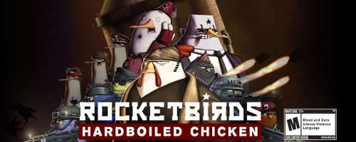Rocketbirds Hardboiled Chicken Logo