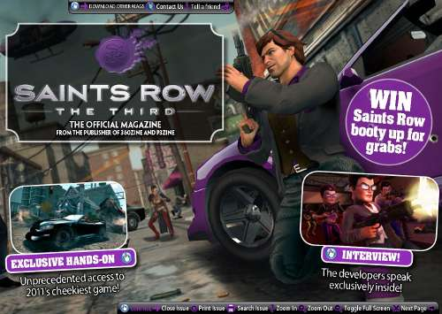 Saints Row The Third Ezine
