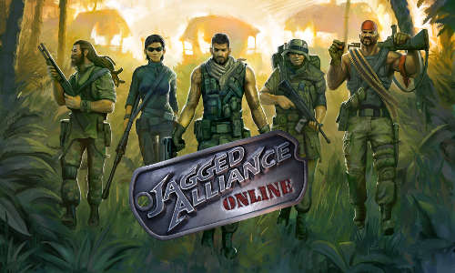 Jagged Alliance Online Screenshot Logo