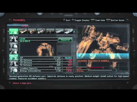 Check Out This Armored Core V Customization Official Commentary Walkthrough