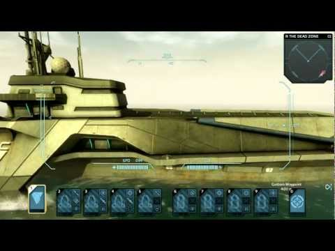 In Case You Missed It Here's The E3 2012 Carrier Command: Gaea Mission Presentation With 11 Minutes Of Gameplay