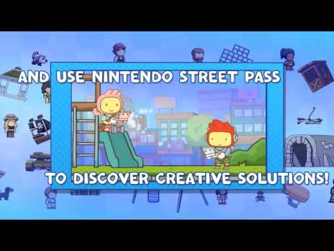 Scribblenauts Unlimited Heads To The Wii U And 3DS With This Pair Of Super Trailers
