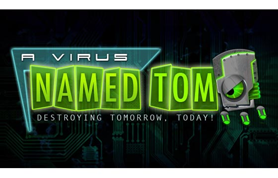 A Virus Named TOM Logo
