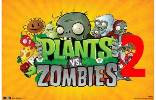 Plants vs Zombies 2 Fake Logo