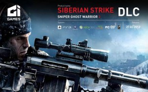 Sniper Ghost Warrior 2 Siberian Strike DLC Header Logo