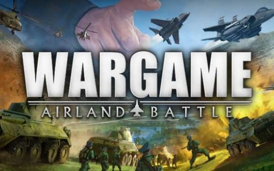 Wargame Airland Battle Logo Header
