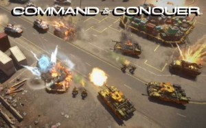 Command and Conquer 2013 Header Logo